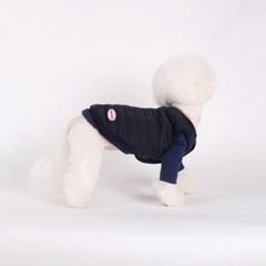 [퀄팅 패딩 베스트]Quilting padding vest_Navy