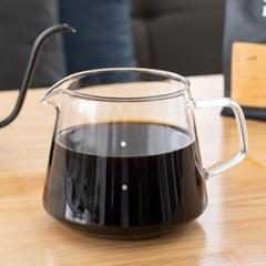 [칼딘] 내열유리 드립서버 커피서버 TP01 400ml, 600ml