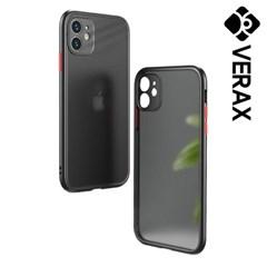 아이폰11프로 지문 방지 심플 컬러 하드 케이스 P488_(2466283)