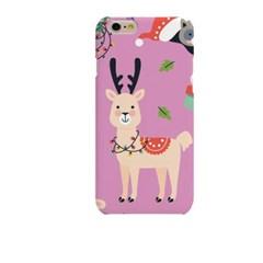 Pink BG Lama (HA-063A) Hard Case