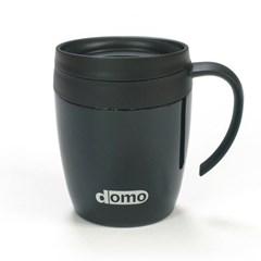 도모 보온보냉 원형 머그컵 블랙330ml_(2928575)