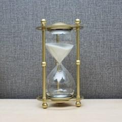 골드메탈 모래시계(30분)/ 포인트 인테리어장식품