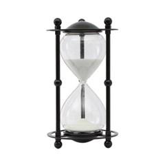 블랙메탈 모래시계(30분)/ 포인트 인테리어장식품