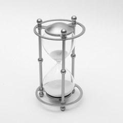 실버메탈 모래시계(30분) / 포인트 인테리어장식품