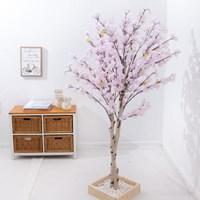 쌍대벚꽃나무 150cm (2색상)  조화 인조 나무 인테리어_(1689497)