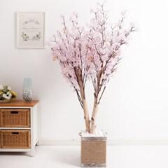쌍대벚꽃나무 170cm 로프 5-5 조화 인조 나무 인테리어_(1689417)