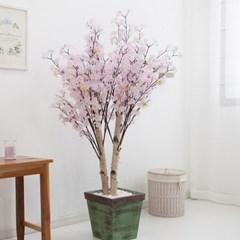 쌍대벚꽃나무 170cm 빈티지 5-5 조화 인조 나무 인테리_(1689416)