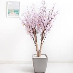 쌍대벚꽃나무 170cm 메탈 5-5 조화 인조 나무 인테리어_(1689415)