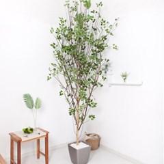 A자형자작나무320cm 메탈5-7 조화 인조 나무 인테리어 F_(1689410)