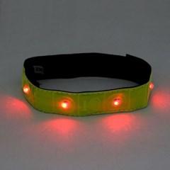 LED 안전 손목 팔찌/잡화점판매용 바이크샾판매용