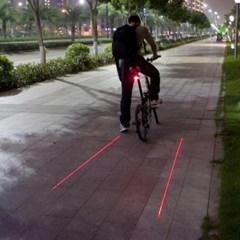 레이저 안전 후미등/자전거동호회 단체선물용 안전등