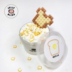 [젤리블리스] 계란토스트/슬라임/우드글루믹스/디폼블럭/옥수수향