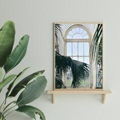 White window 사진포스터
