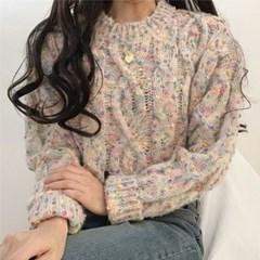 팝팝 꽈배기 라운드 니트(knit532)_(1789143)