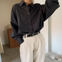 마르코 롱 루즈핏 셔츠 남방