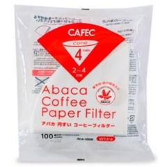 카펙 아바카 종이 커피 필터 2-4인용 100매 화이트_(1280503)