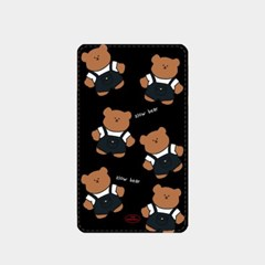 overalls pattern slow bear 보조배터리_(880616)