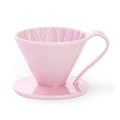 카펙 아리타 도자기 플라워 드리퍼  핑크 1-2인용_(1280513)