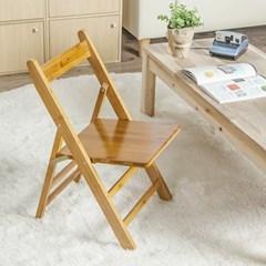 우드 접이식 등받이의자/거실 베란다용 인테리어의자