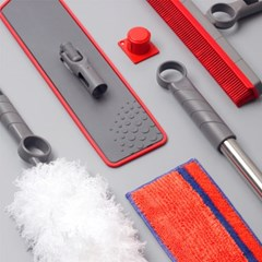 프로4Z 스웨덴 명품 청소도구 퀵앤클릭 5종 B세트 W1
