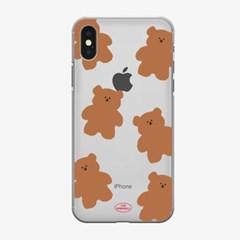 pattern slow bear 젤리케이스_(881000)