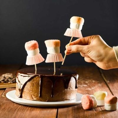 [발렌타인데이]피나포레 발레리나가나슈 케이크만들기DIY 홈베이킹