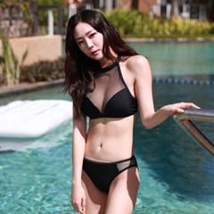 네트 비키니 블랙_Net Bikini Black
