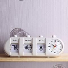 타원 캘린더 탁상시계/인테리어점판매용 입주선물