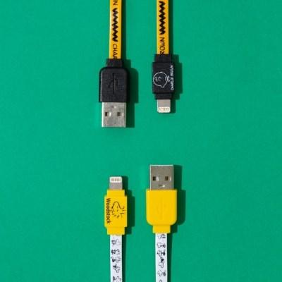 스누피 라이트닝 USB-Cable for Apple (동기화, 충전 가능)
