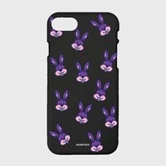 [컬러젤리]Purple Rabbit-Black