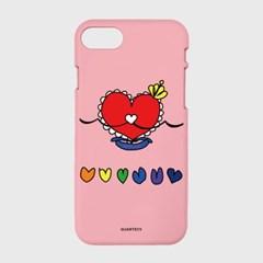 [컬러젤리]Princess Heartcase-pink