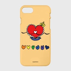 [컬러젤리]Princess Heartcase-yellow