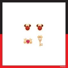 [미키마우스] 미니마우스 모티브 패키지 귀걸이 OTE420115QPX