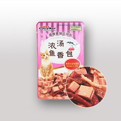 캐티맨 영양만점 완소파우치 60g 치킨&튜나_(801465482)