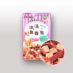 캐티맨 영양만점 완소파우치 60g 치킨&가다랑어_(801465481)
