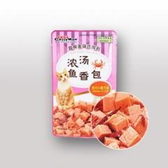 캐티맨 영양만점 완소파우치 60g 치킨&크랩_(801465480)