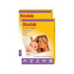 광택포토용지(5740-322 A4 20매 230g Kodak)
