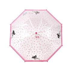팬콧 팝바우 패턴 53 비닐 장우산