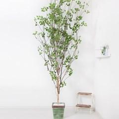 A형자작나무화분set 320cm K 조화 인조 나무 인테리어 F_(1689393)