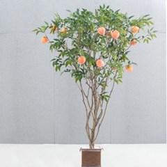 라인-복숭아나무화분set 210cm 조화 인조 나무 인테리어_(1689381)