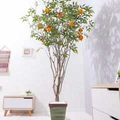 라인-석류나무화분set 240cm 조화 인조 나무 인테리어 F_(1689380)