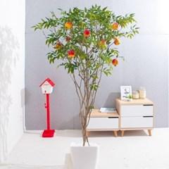라인-석류나무화분set 210cm 조화 인조 나무 인테리어 F_(1689379)