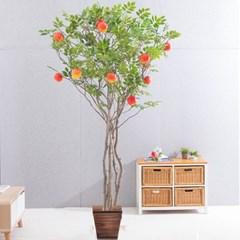 라인-사과나무화분set 240cm 조화 인조 나무 인테리어 F_(1689378)