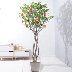 라인-사과나무화분set 210cm 조화 인조 나무 인테리어 F_(1689377)
