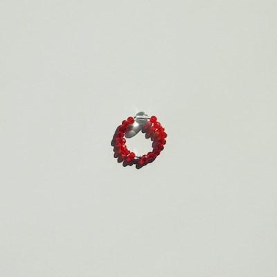 red_crystal_r 백수정 레드비즈반지