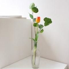 생화같은 한송이 망고튤립 인테리어 조화꽃장식(5color)
