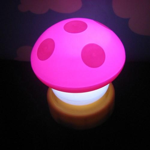 터치 버섯램프 무드등 Big - 핑크