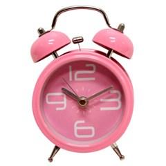 트윈벨알람시계 S - 핑크