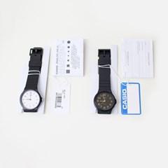 black casio watch