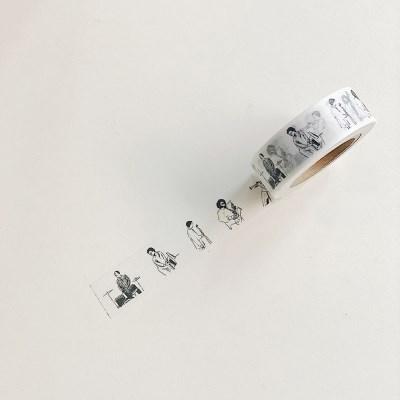 musician masking tape